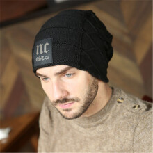 SiYing Fashion Europe and America NC wool men's pullover knit hat