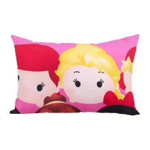 KENDRA (SB) Cushion Tsum Tsum Big Princess 30x45cm - Pink