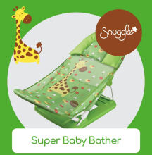 CROWN Super Baby Bather - African Giraffe