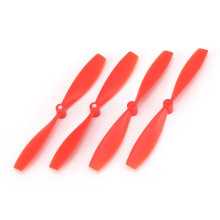 COZIME 2 Pairs CW CCW Propellers Props Blades Spare Parts for Xiaomi Mitu RC Drone Red