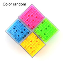 [COZIME] 3D labyrinth ball children's intelligence-related educational toys Random1 4.5x4.5x4.5cm