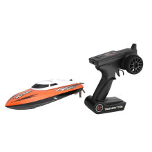 COZIME UDI001 20km/h 2.4G RC High Speed Racing Boat Water Cooling Self-righting Orange