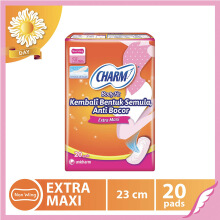 CHARM Pembalut Body Fit Extra Maxi Non Wing 20 pads