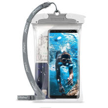 Ringke Universal Case Underwater Phone Casing Waterproof - Gray (Large)