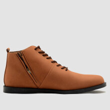 BRODO - Signore Ez E+ Vintage Brown Black Sole