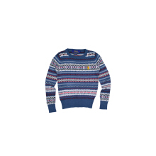 POLO RALPH LAUREN - KIDS  SWEATER  KNITTING-DARK BLUE