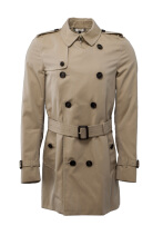 Burberry The Kensington Medium-Length Heritage Trench Coat Outerwear