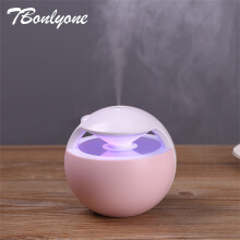 Jantens 450ML Ball Humidifier with Aroma Lamp Essential Oil Ultrasonic Electric Aroma Diffuser Mini USB Air Humidifier