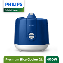 PHILIPS Rice Cooker 2 L HD3129/31 Premium - Blue