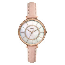 Fossil ES4455 Jocelyn Ladies White Mother of Pearl Dial Blush Leather Strap [ES4455]