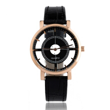PEKY Hollow women luxury creative watch women casual watch leather ladies dress quartz watch
