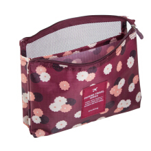 Good intention Korean version of the color light printed cosmetic bag fashion storage bag