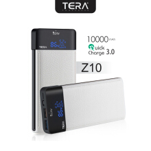 TERA Z10 Power Bank Quick Charger 3.0 10000mAh White