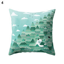 Farfi Forest Animal Print Throw Pillow Case Bed Sofa Waist Cushion Cover Home Decor
