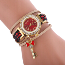 Fashionmall Women Decoration Wristwatch Student Watch 6 COLOR