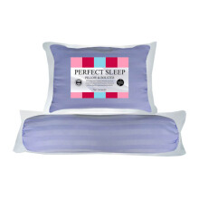 THE LUXE Perfect Sleep Pillow Bolster -  Lilac
