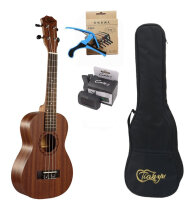 Paisen 23-inch Mahogany ukulele concert ukulele send tuner trim folder thick piano bag