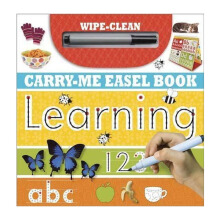 Learning Range : Wipe-Clean Carry-Me Easel Book : Learning Import Book -  Make Believe Ideas - 9781783934072