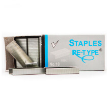 RE-TYPE Staples No. 10 (1 Pack = 10 Pcs)