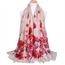 LAVEN pastoral style new Bali yarn printing women's scarf