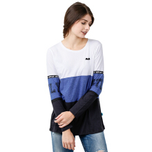 MOUTLEY Ladies Tshirt 1612 316121722 - Blue