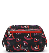 Sakroots Carryall Cosmetic Bag Scarlet Sweet Heart Multicolor