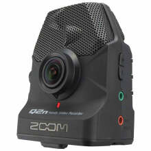 Zoom Q2n Handy Audio Video Camera Recorder - Camcorder