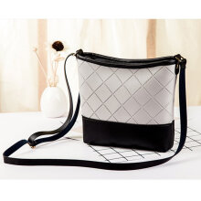 Fashionable Single Shoulder Bag All-match Style Casual Bag Ladies Bag White