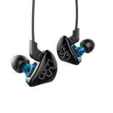 KZ KZ - ES3 In-ear Detachable HiFi Music Earphones with Hybrid Driver Unitswithout Mic