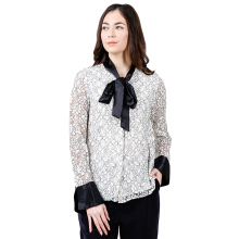THE EXECUTIVE Women  5-BLWSIG118D056 Blouse -Off White