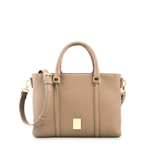 Les Catino New York Manhattan Satchel Toffee Toffee