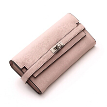 YOOHUI PQ9 New Design Women Wallets Leather Famous Brand Embossed Wallet Female Purses