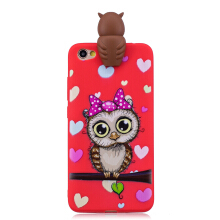Moonmini 3D Cartoon Cute Soft TPU Dolls Toys Case for Xiaomi Redmi Note 5A (Standard)