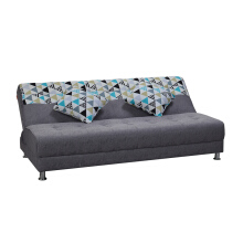 OSCAR LIVING Sofabed IVANKA two tone - Triangle Blue - Jabodetabek Kota Only