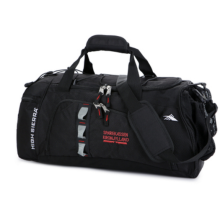 Runetz R-1007 Basketball&Football large capacity shoulder portable travel Sports gym training bag(L 45*25*28CM)-Black