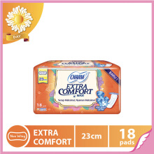CHARM Pembalut Extra Comfort Maxi Non Wing 23cm 18 pads