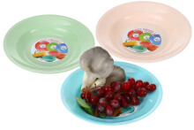 Hyugo Round Plate Set of 3 pcs