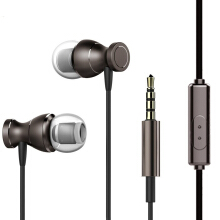Jantens Stereo Headphones Bass 3.5mm Magnet Sports Headphones with Microphone Note 7 Samsung iPhone 7 MP3 Dark Grey