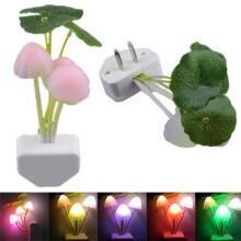 Farfi LED Mushroom Design Dream Home Bedroom Night Light Bed Lamp as the pictures
