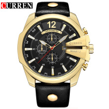 CURREN Men Business Watches Top Luxury Brand Quartz Watch 8176