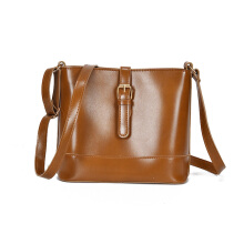 Jantens Fashion Messenger Bag Women Premium Oil PU Crossbody Leather SAC Shoulder Bolsa