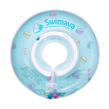 Swimava SWM111 Macaron G1 Starter Ring Ban Renang Anak - Light Blue Blue