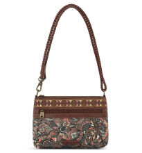 Sakroots Campus Mini Crossbody Bag Sienna Spirit Desert Multicolor