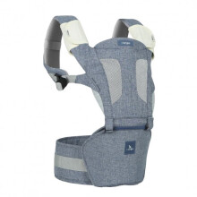 i-Angel Gendongan Bayi Magic 7 Hipseat Carrier + Hipseat - Melange Blue