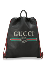 Gucci Gucci Print Drawstring Backpack