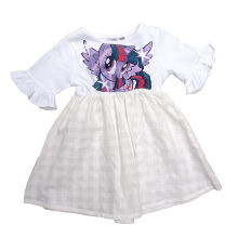 Kids Icon - Dress Anak Perempuan MY LITTLE PONY with Gliter Printing - MY5T0100180