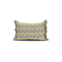 Vivere Cushion Cover Algeria Chevron Gray Yellow 30x45 cm