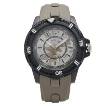 LORUS Jam Tangan - Brown Black - Silicon - RRX47FX9