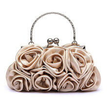 Farfi Rose Flower Pattern Clutch Bag