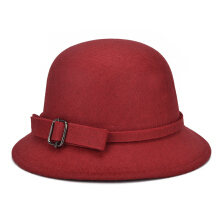 SiYing autumn and winter new letters Korean version of the trend woolen dome hat